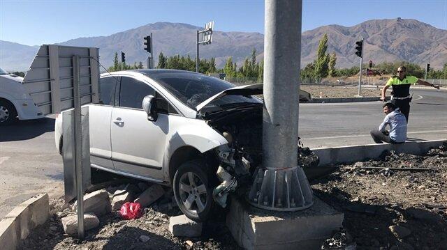 Erzincan da meydana gelen trafik kazasında 5 kişi yaralandı.