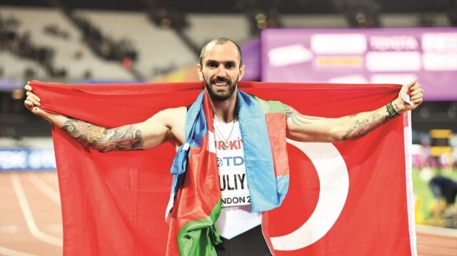 Dünya şampiyonu milli atletimiz Ramil Guliyev