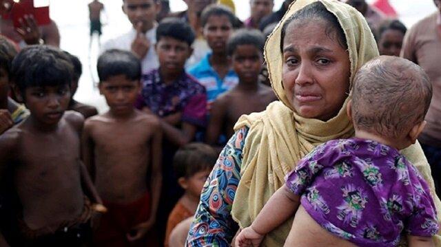 """البيت الأبيض """"يشعر بقلق بالغ"""" إزاء أزمة الروهنغيا في ميانمار"""