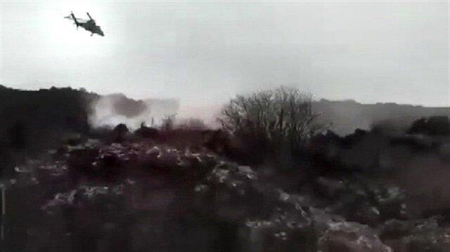 Turkish military shells PKK terrorists in eastern Turkey