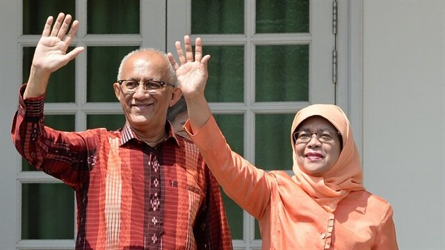 """سنغافورة.. """"حليمة يعقوب"""" أول امرأة مسلمة رئيسة للبلاد"""