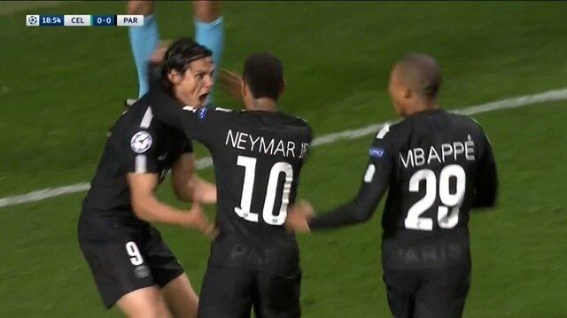 PSG'de Neymar şov devam ediyor: Celtic 0-5 PSG