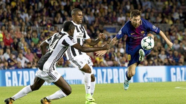 Barcelona Juventus'u Messi ile ezdi: 3-0