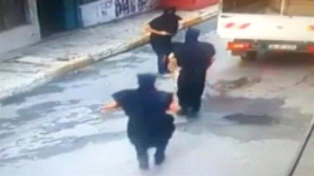 Eli silahlı, sözde ninjalar yakalandı