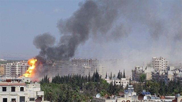 Blast in Idlib