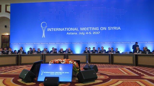 Syria Peace Talks in Astana