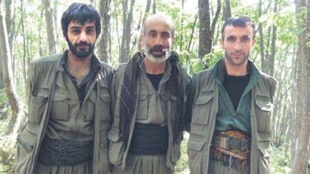 Şifreli dosyadan çıkan PKK'lı teröristlerin fotoğrafı.