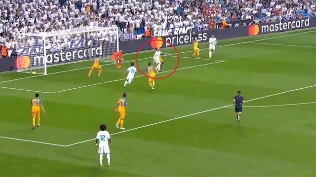 Sergio Ramos'tan rövaşata gol!
