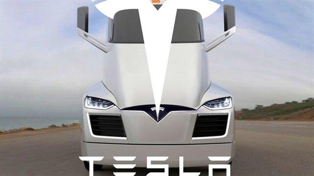 Tesla Semi dünyada bir olacak