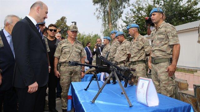 İçişleri Bakanı Süleyman Soylu, Amanos'ta incelemelerde bulundu.