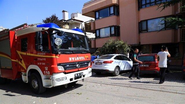 Ankara'da kimyasal madde deposunda patlama haberi: 3 yaralı