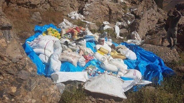 Tunceli'de 7 sığınak ile 1 depo ele geçirildi-Tunceli haber