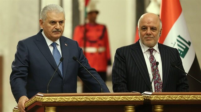 Başbakan Yıldırım, Iraklı mevkidaşı İbadi ile görüştü