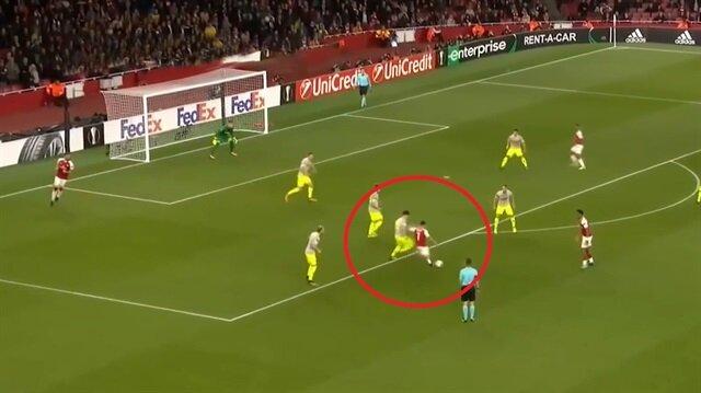 Gecenin golü Alexis Sanchez'den