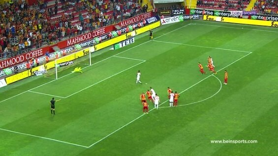 Görüntü Bein Sports'tan alınmıştır.