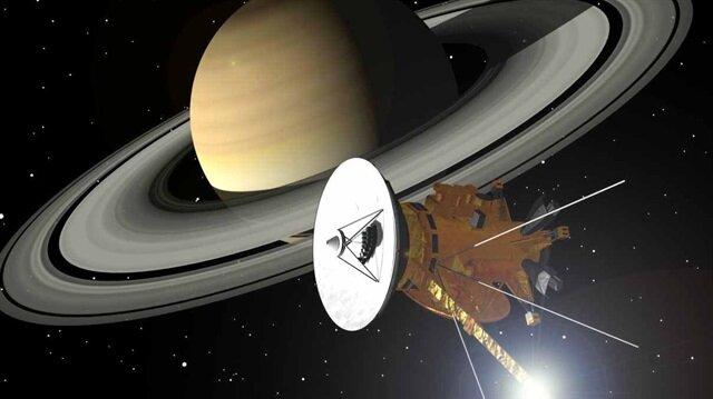 Cassini uydusu bugün Satürn'e ölüm dalışı yapacak.
