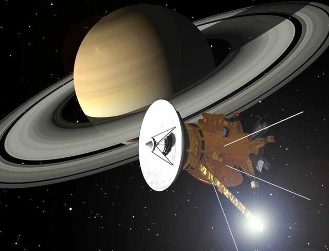 Cassini 'intihar' dalışını yaptı