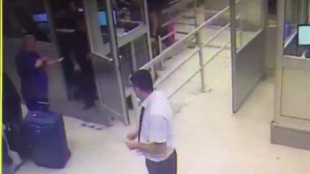 Gürcistan'a kaçmak isteyen kadın valizde yakalandı