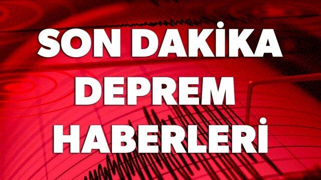 SON DAKİKA DEPREM HABERLERİ HABERİMİZDE.