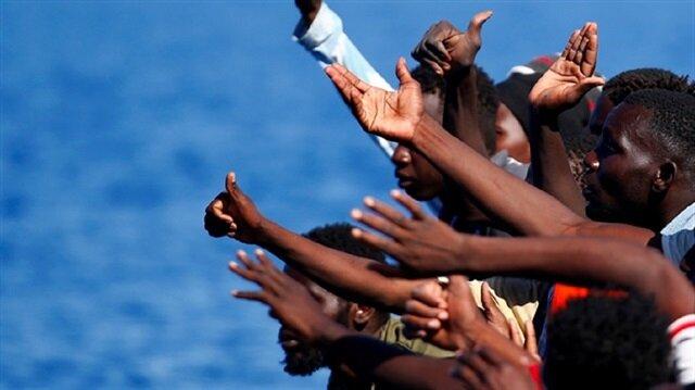 Libyan navy rescues over 2000 migrants in past week