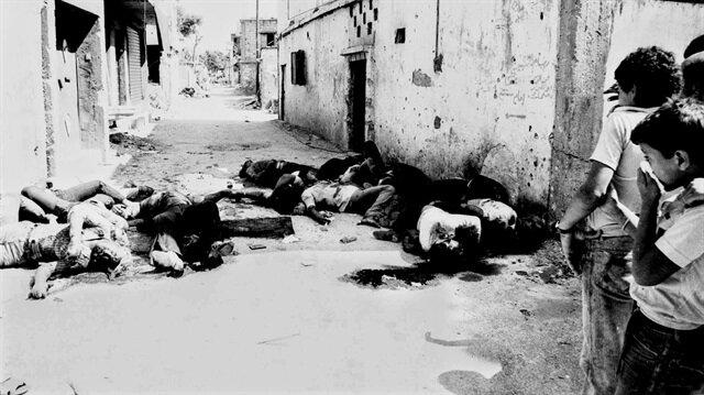 """Tarihin en kanlı olaylarından """"Sabra ve Şatilla Katliamı"""" 35'inci yılında."""