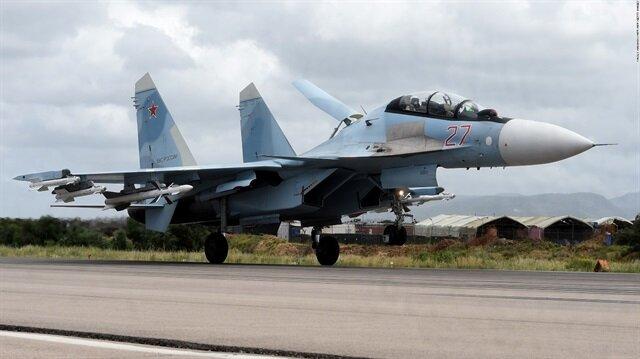 Rusya'ya ait savaş uçakları