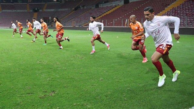 Galatasaray Teknik Direktörü Igor Tudor, 2-0 kazandıkları Kasımpaşa maçından sonra ilk 11'de oynamayan futbolculara idman yaptırttı.