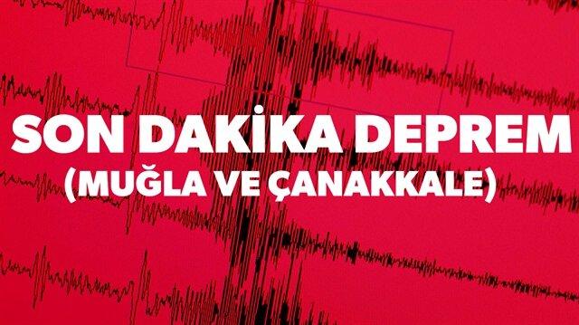 Muğla'nın Milas ilçesinde 4.3 büyüklüğünde deprem meydana geldiği son dakika haberleri arasında.