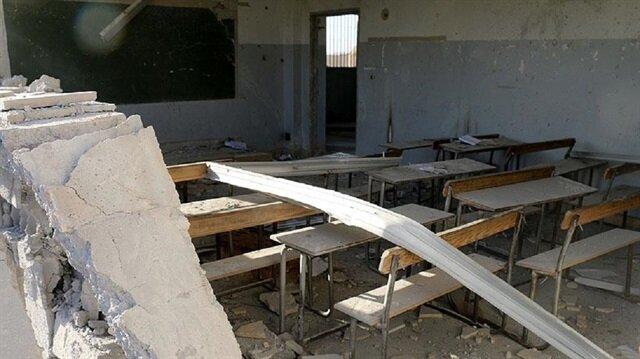 Musul'da askeri eğitim kampı olarak kullanılan bir okulda patlama meydana geldi.