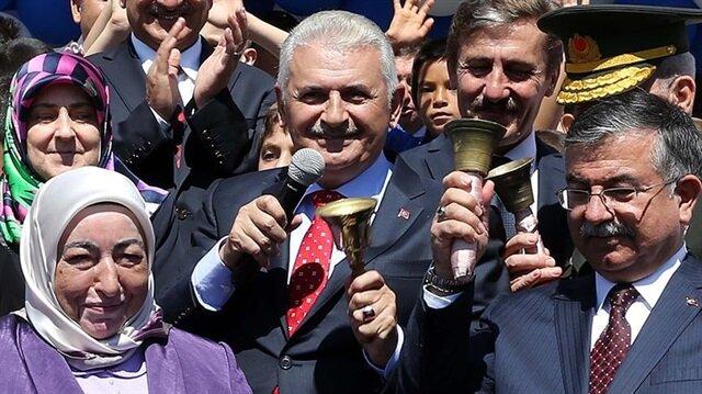 Başbakan Yıldırım ders zilini Şanlıurfa'da çalacak