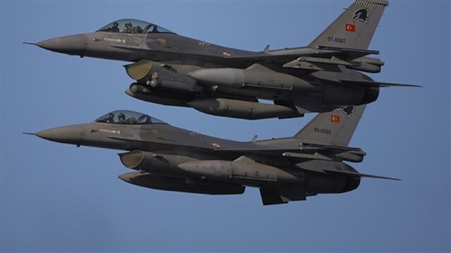 Turkish airstrikes kill 4 PKK terrorists in N