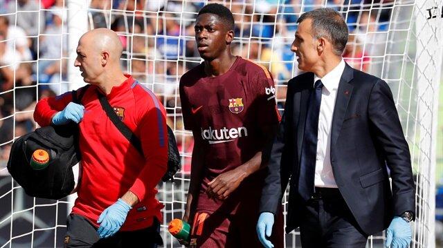 Dembele Barcelona formasıyla henüz üçüncü maçına çıktı.