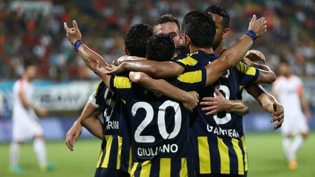 Fenerbahçe<br>Alanya'ya patladı
