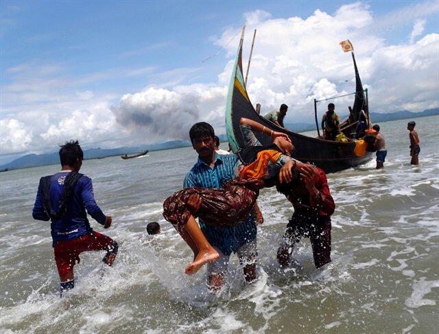 'Myanmar'a silah ambargosu uygulansın' çağrısı