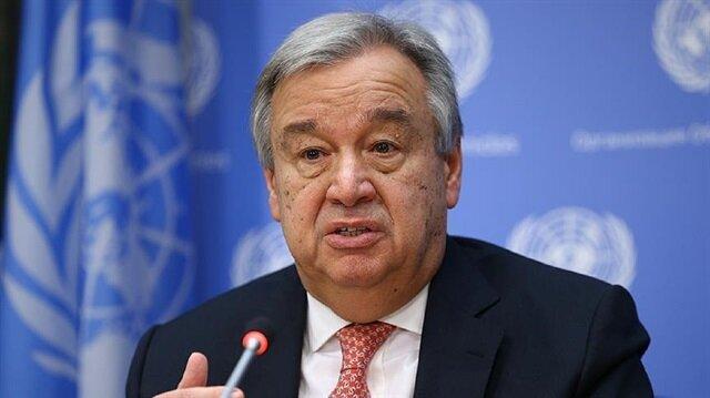 The United Nations Secretary-General Antonio Guterres