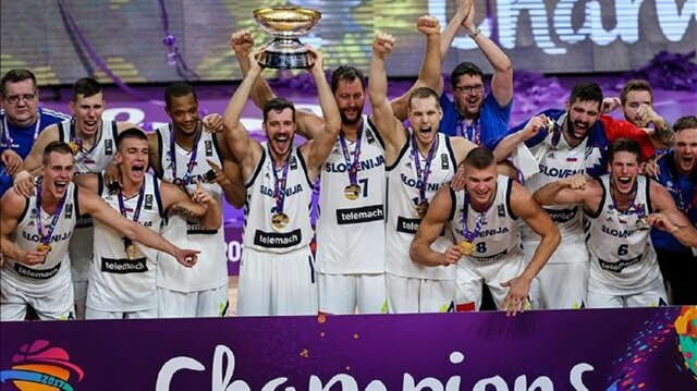 Slovenia defeated Serbia 93-85 in EuroBasket 2017 final at Istanbul's Sinan Erdem Dome to claim their first ever European title.