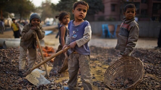 'Shames us all': 152mn children in forced labor, 40mn people in slavery
