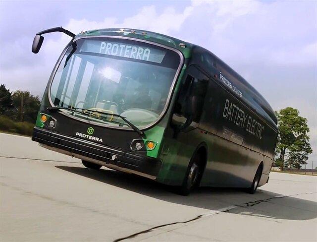 Tek şarjla 1700km katedebilen elektrikli otobüs