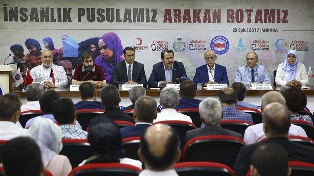 منظمات تركية تطلق حملة مساعدات جديدة لإغاثة مسلمي الروهنغيا
