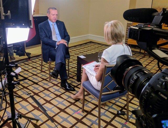 Erdoğan'dan ABD'li muhabire 'terörist' uyarısı