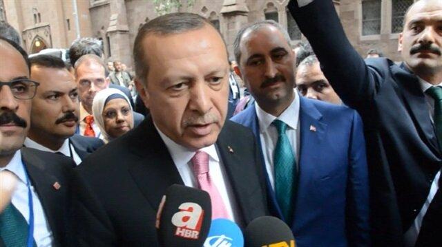 أردوغان: تركيا دون غيرها تدافع عن وحدة التراب العراقي