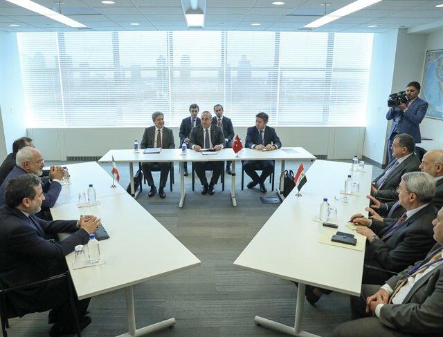 Dışişleri Bakanı Çavuşoğlu Irak ve İranlı mevkidaşlarıyla görüştü