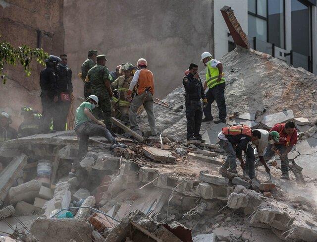Meksika'da ölü sayısı 224'e yükseldi