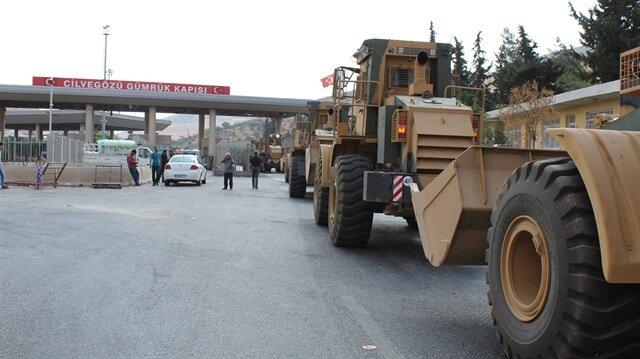الحدود التركية تعيش حركة كبيرة