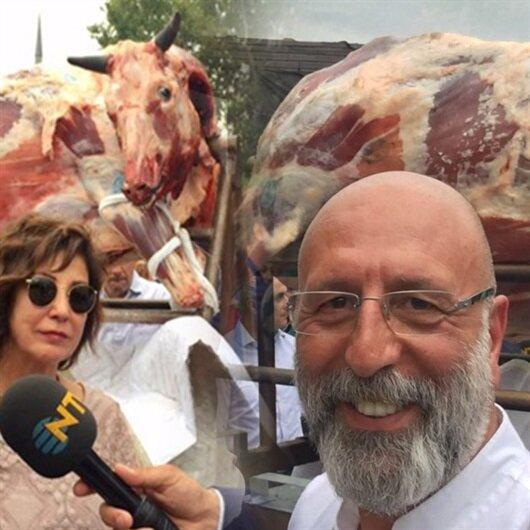 Ünlü şef Cüneyt Asan 150 kiloluk danayı fırına verdi