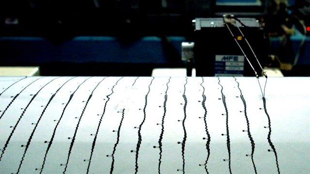 Ege Denizi'nde 4 büyüklüğünde deprem meydana geldi.