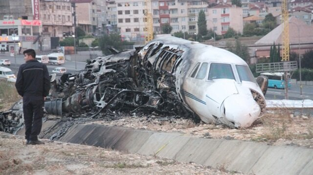 Private jet carrying five onboard crashes on landing at Istanbul Airport