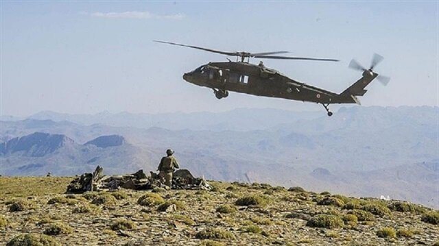 17 PKK terrorists in 5 provinces killed in 24 hours