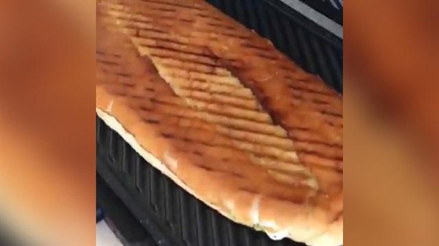 Sosyal medyayı ikiye bölen tost