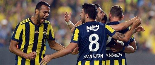 Olaylı derbi<br>Fenerbahçe'nin